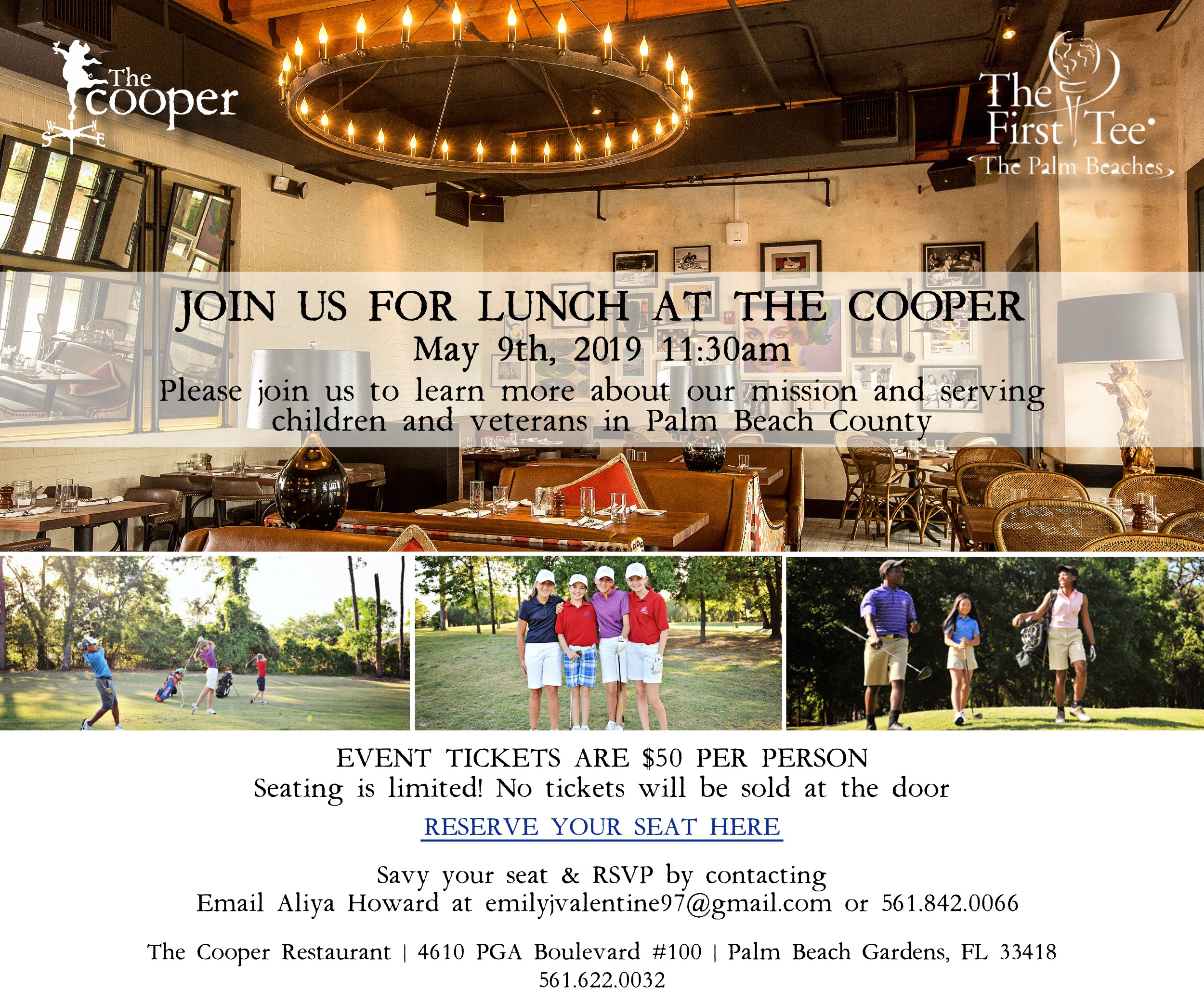 e3ab0e23d9d Dine for a Cause to Promote Autism Awareness at The Cooper!